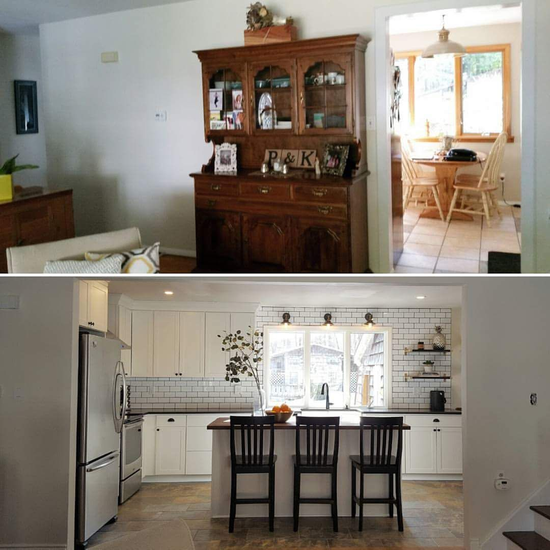Best Before After Farm Inspired Kitchen Capitol Kitchens And 400 x 300