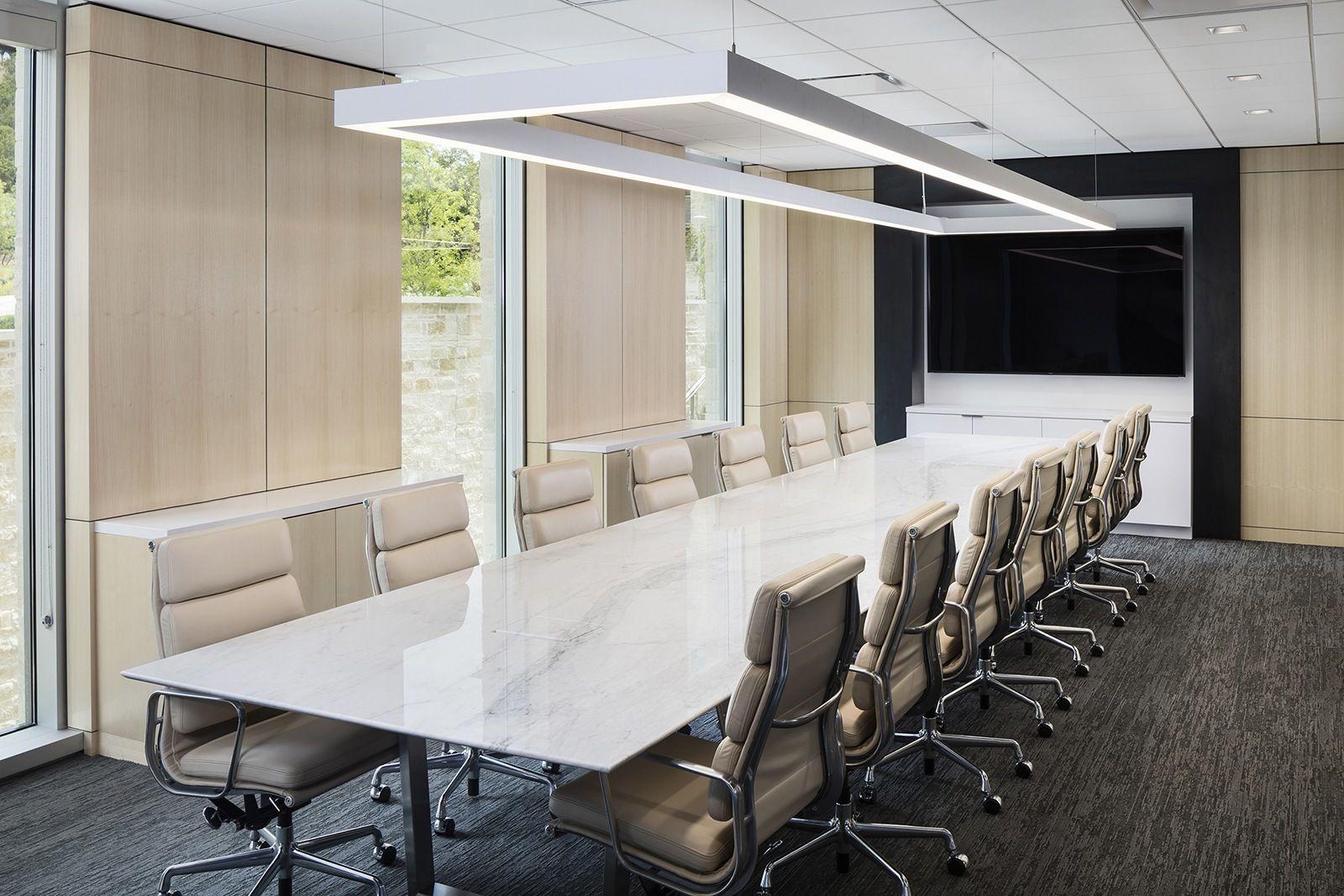 Inside Indeed's New Sleek Austin Headquarters Workplace