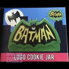 The Cookie Jar Dc Extraordinary Batman 1966 Logo Cookie Jar Classic Tv Series Adam West Dc Comics