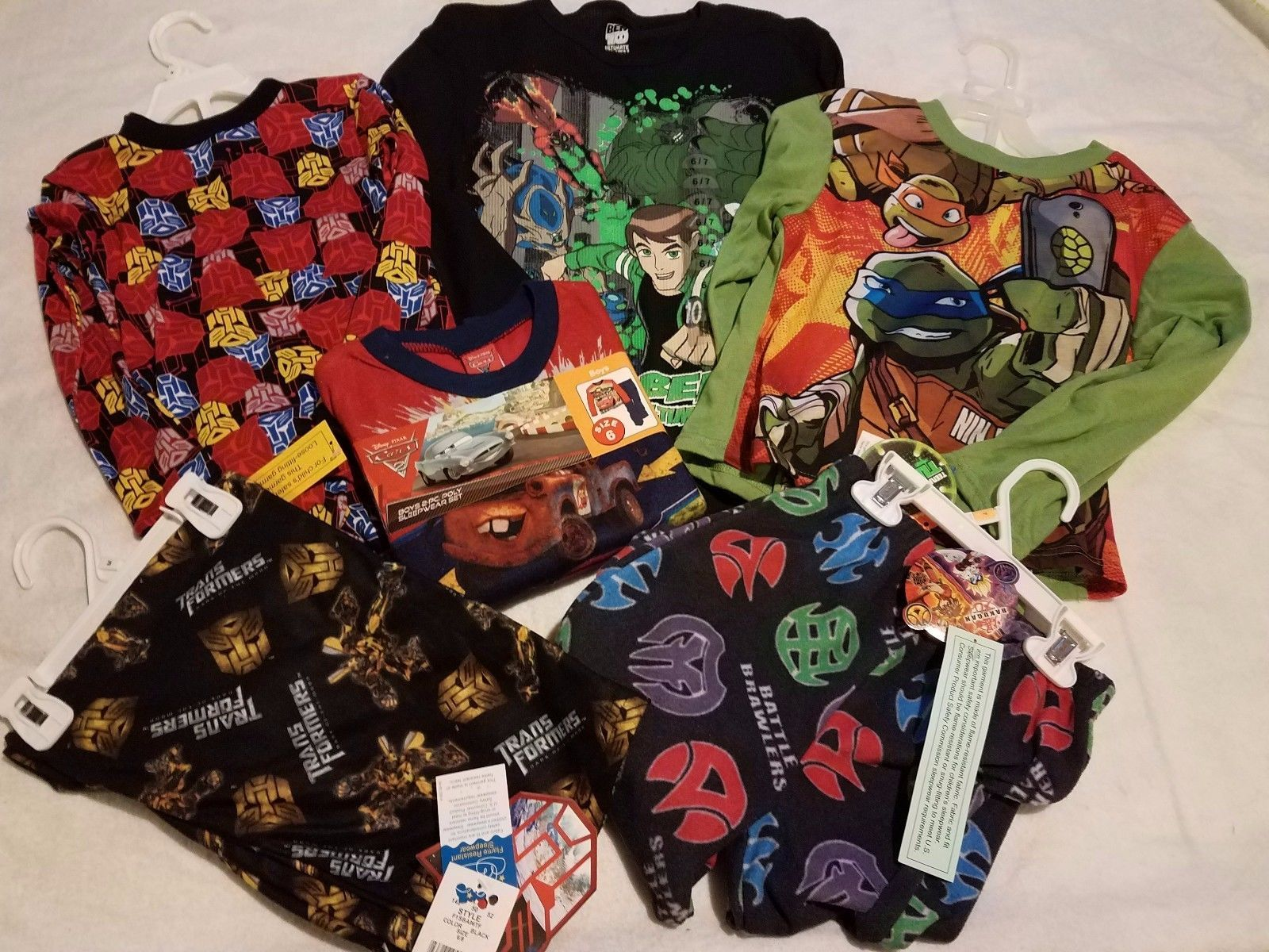 Mixed Items and Lots 15620: Lot Of Brand New Boys Size 6 7 Clothing -> BUY IT NOW ONLY: $30 on eBay!