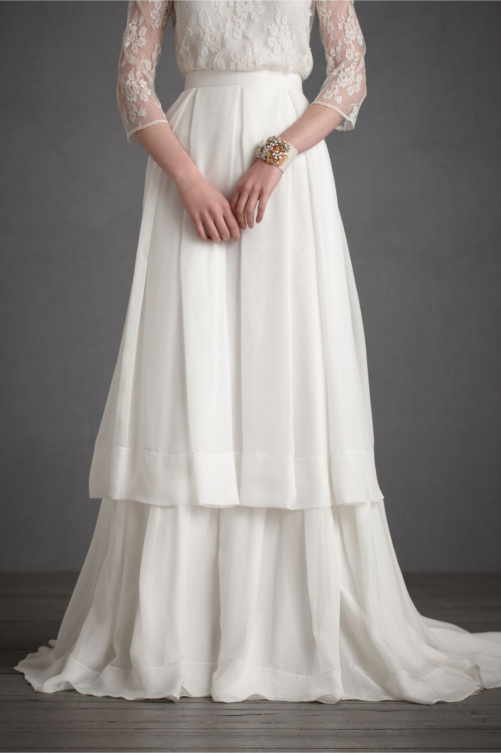 Anne of green gables wedding dress  Lazard Skirt in Separates BHLDN  Bridal Couture is my thing