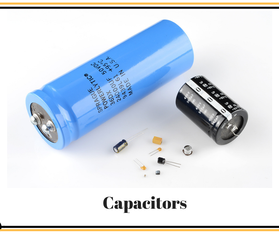 A Capacitor Is A Passive Two Terminal Electronic Component That Stores Electrical Energy In An Electric Field G Capacitors Computer Hardware Electrical Energy