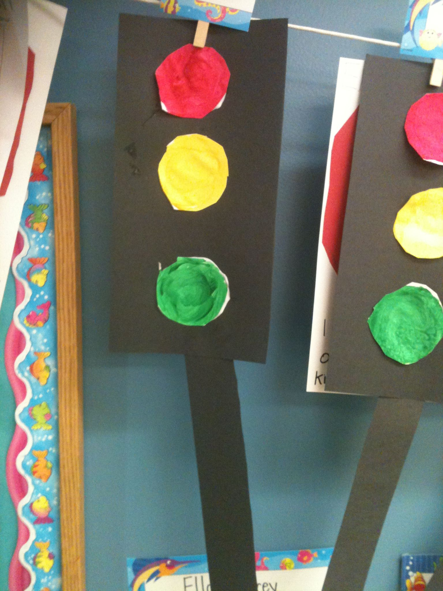 Traffic Lights For Our Transportation Unit