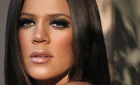 khloe-kardashian - make-up
