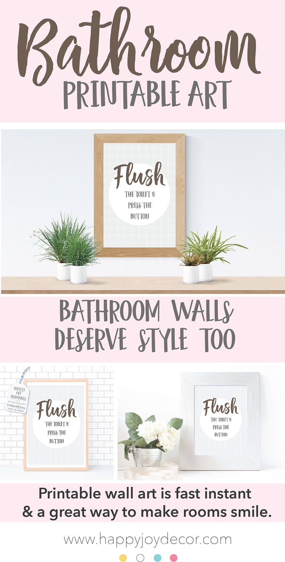 Dry Yourself Bathroom Printable Wall Art Is A Great Way To Add Some Fun To Your Bathroom Walls Who Wall Printables Bathroom Art Printables Printable Wall Art