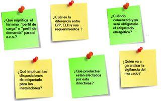 Preguntas Frecuentes Sobre La Directiva Erp Y La Directiva Eld De Etiquetado Energético Energetico Preguntas Ahorro De Energia