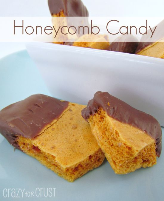 how to make honeycomb sweets