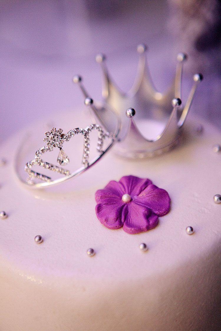 72 Purple Wedding Cake Cute Cake Toppers Prince Princess Or