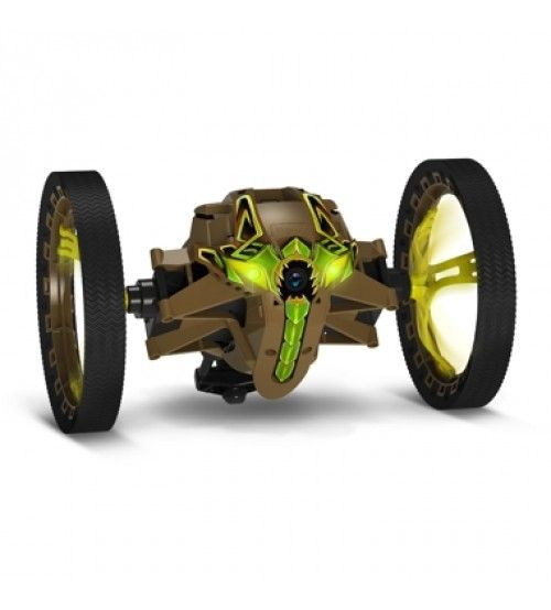 Best Parrot Jumping Sumo Kaki Brown With Images Mini Drone 400 x 300