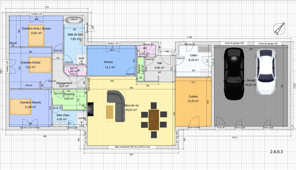33 Plan Maison 3 Chambres Plain Pied Avec Garage Plan De La Maison Plan Maison Plain Pied Maison Plain Pied Plan Maison
