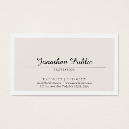 Create your own simple modern chic plain trendy business card create your own simple modern chic plain trendy business card simple clear clean design style reheart Gallery