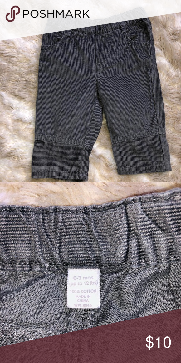 Baby Boy Dress Pants0 3 Months Nwot Grey Baby Boy Dress Pants True