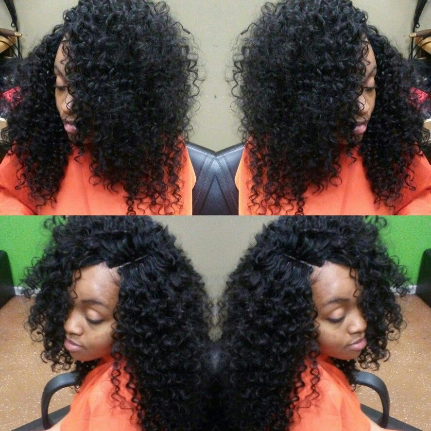 hair for days!!! quick weave with invisible part no leave