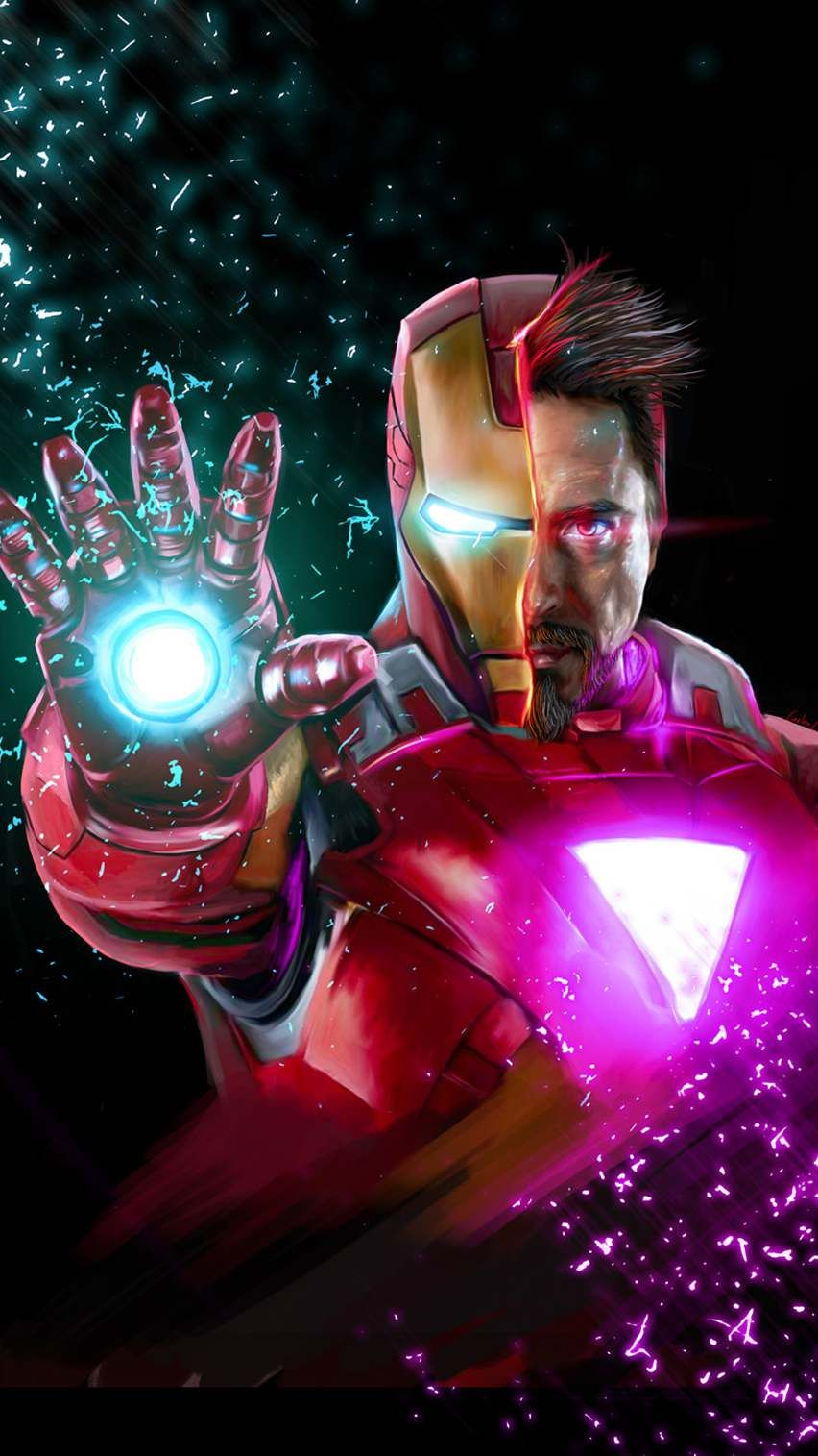 Avengers Endgame Tony Stark Iron Man Iphone Wallpaper Iron Man