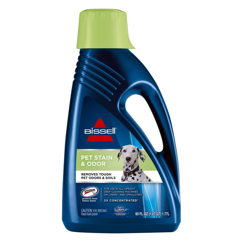 Bissell 2x pet stain odor full size machine formula 60