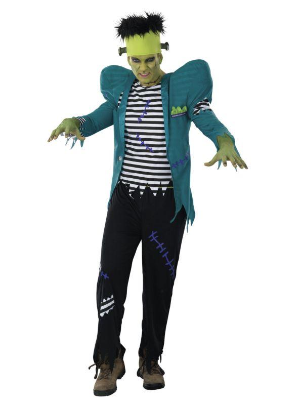 Frankenstein Costume Frankenstein, Halloween fancy dress and Fancy - asda halloween decorations