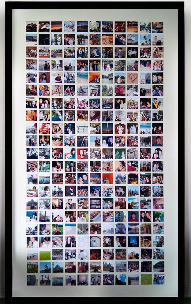 Diy Huge Photo Frame • Kostenloses Tutorial mit Bildern