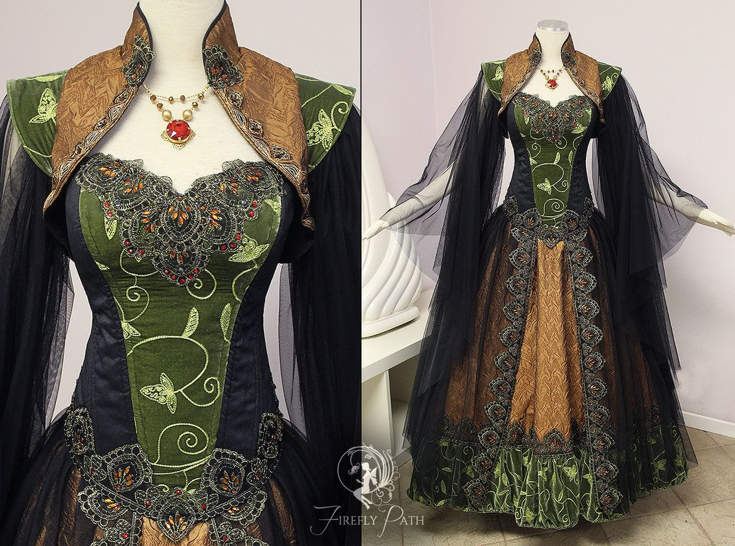 Dalish Elf Gown by Firefly-Path.deviantart.com on  DeviantArt  118e14ba5d