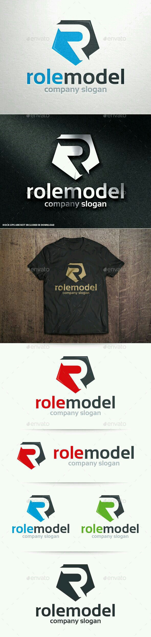 Buy Role Model Letter R Logo