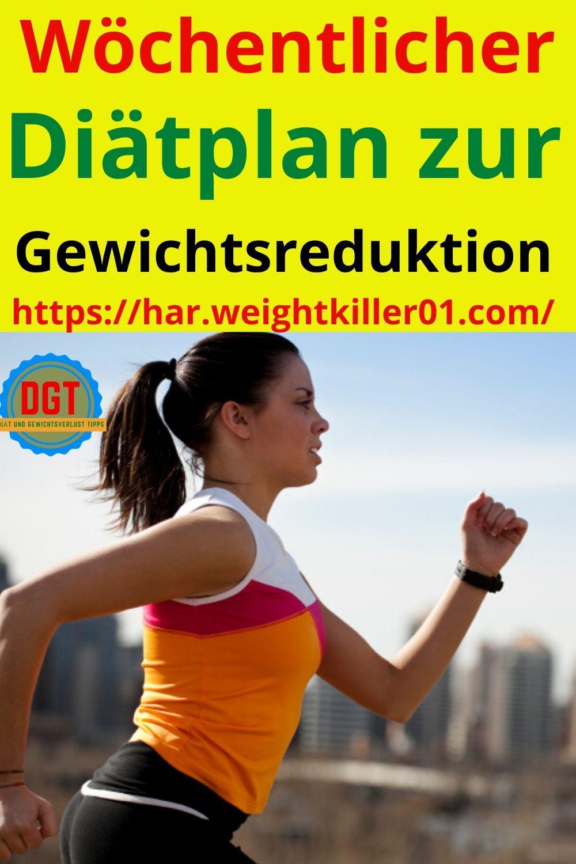 Wöchentlicher Gewichtsverlust