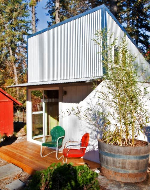 9 Sources for midcentury modern sheds - prefab, DIY kits, and ...