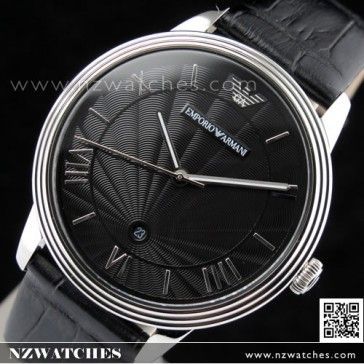 b38fabb500d BUY Emporio Armani Quartz Classic Leather Strap Mens Watch AR1611 - Buy  Watches Online