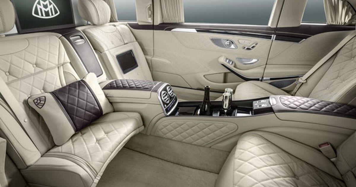 Com 6,5 metros, nova limusine Mercedes-Maybach é só ostentação
