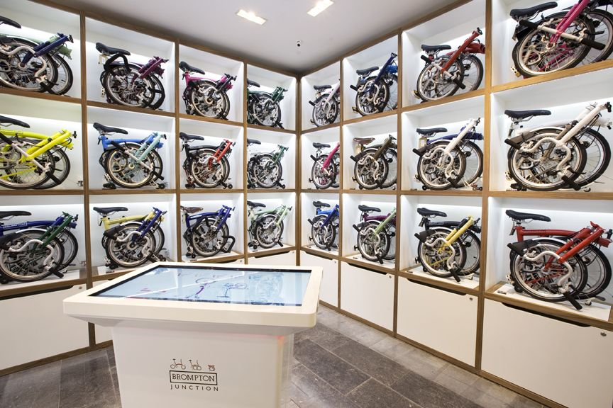 Brompton Bicycle's new Brompton Junction shop in Covent Garden | Brompton,  Brompton bicycle, Bicycle shop