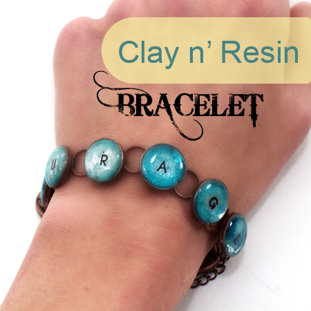 Clay and Resin Bracelet - how to