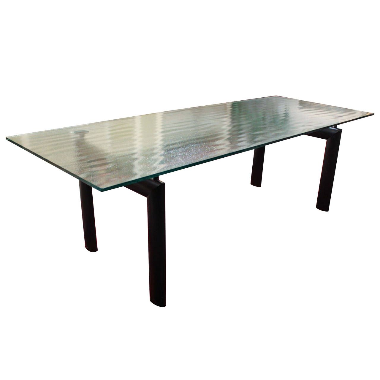Le Corbusier frosted glass dining table https://www.google.nl/search?q =le+corbusier+table+lc6&rlz=1CDGOYI_enNL686NL686&hl=en-GB&prmd=isvn&source=lnms&tbm=  ...