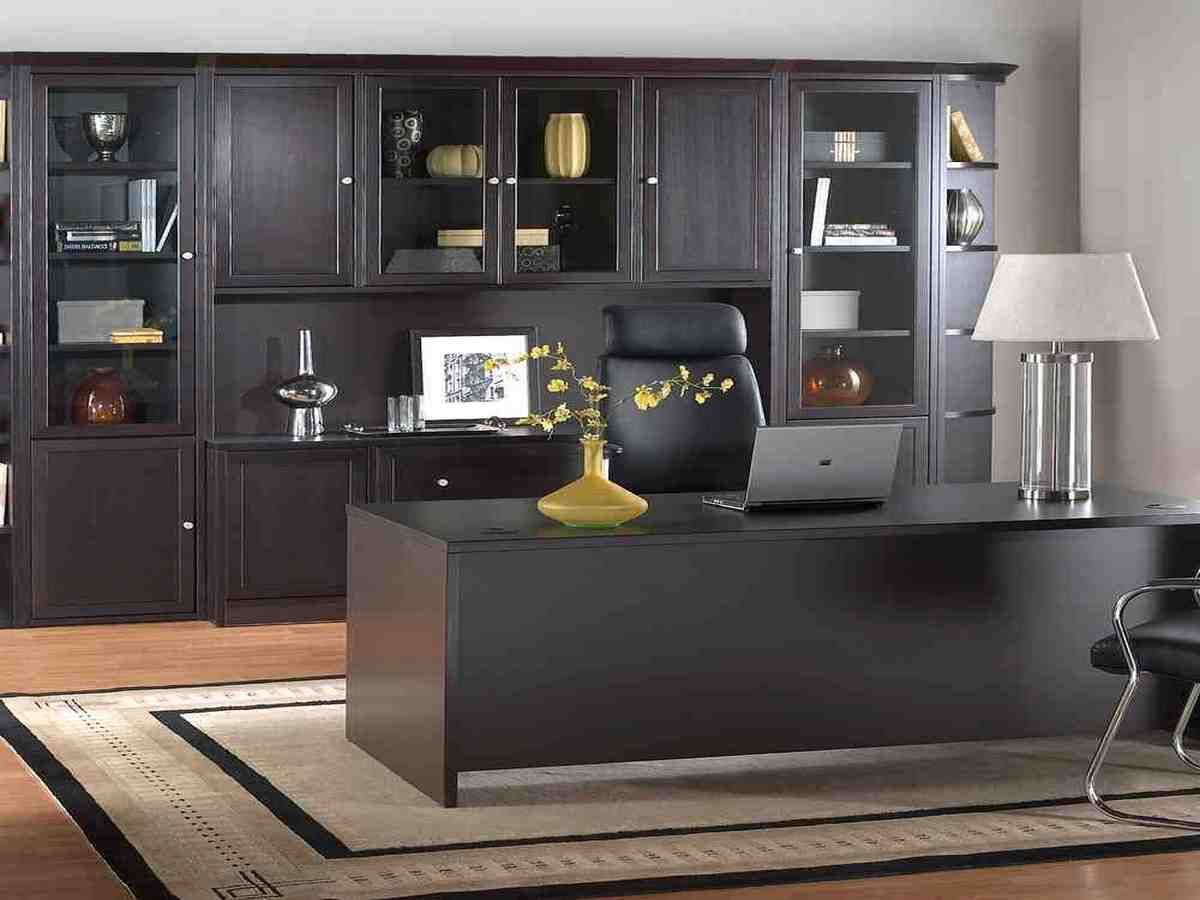 modular home office furniture collections with images