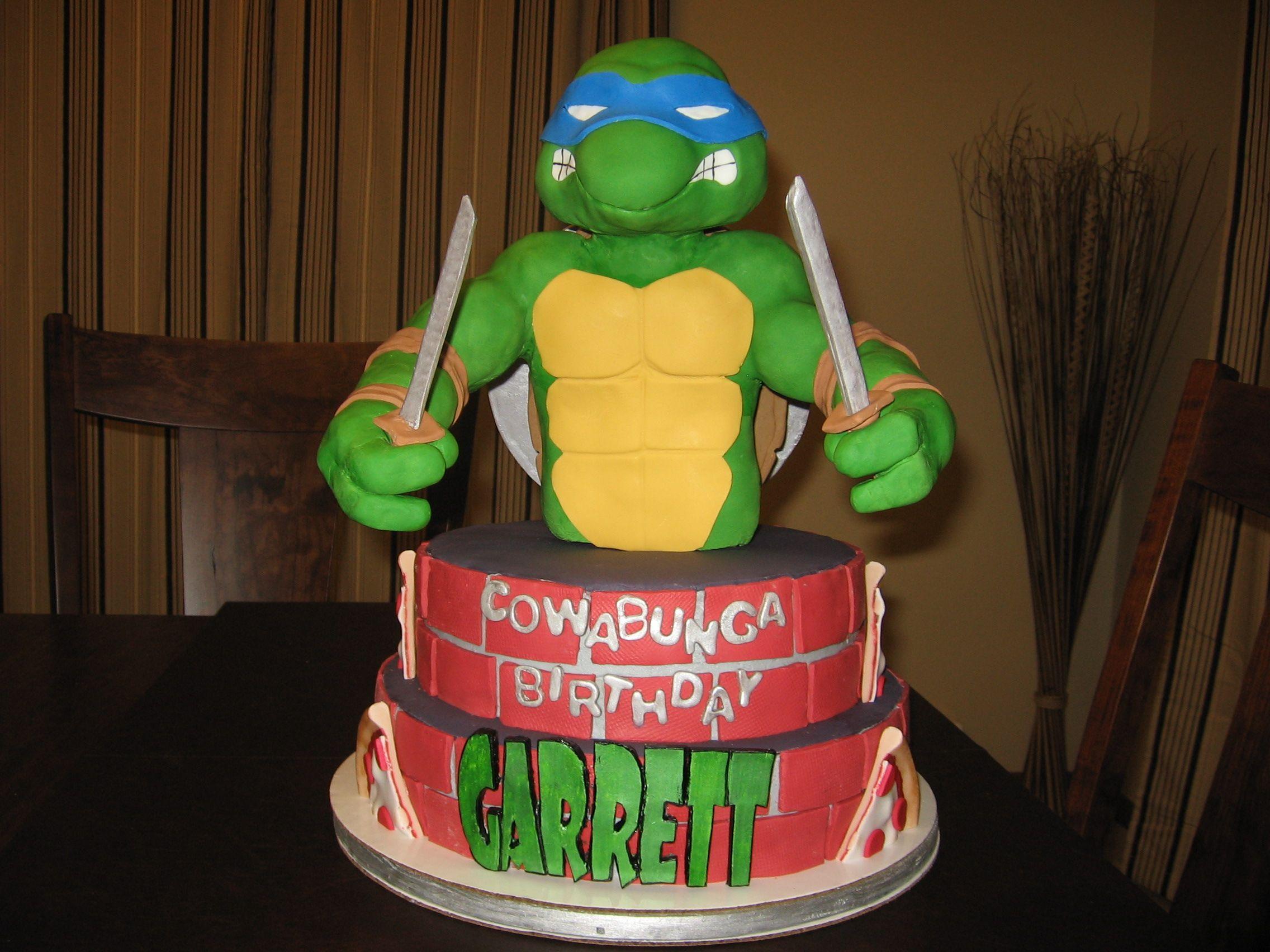 Teenage Mutant Ninja Turtle Cake Tv Movies Celebrity Ninja Turtle Cake Teenage Mutant Ninja Turtle Cake Boy Birthday Cake