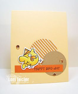 Card by SPARKS DT Lori Tecler PS stamp set: Birthday Buddies; PS dies: Buddies