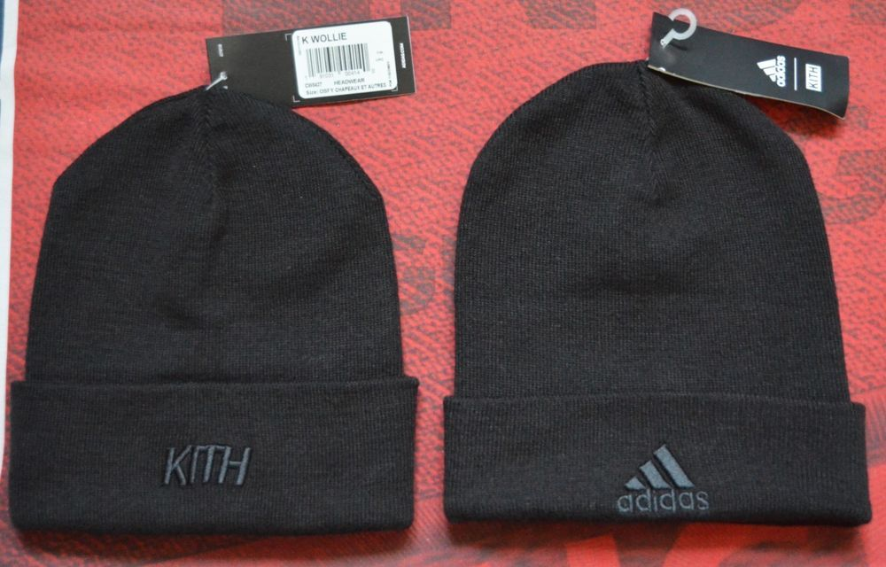 85a80650 Adidas X KITH Soccer Cobras Black Beanie Hat K Wollie | Clothing, Shoes &  Accessories, Men's Accessories, Hats | eBay!