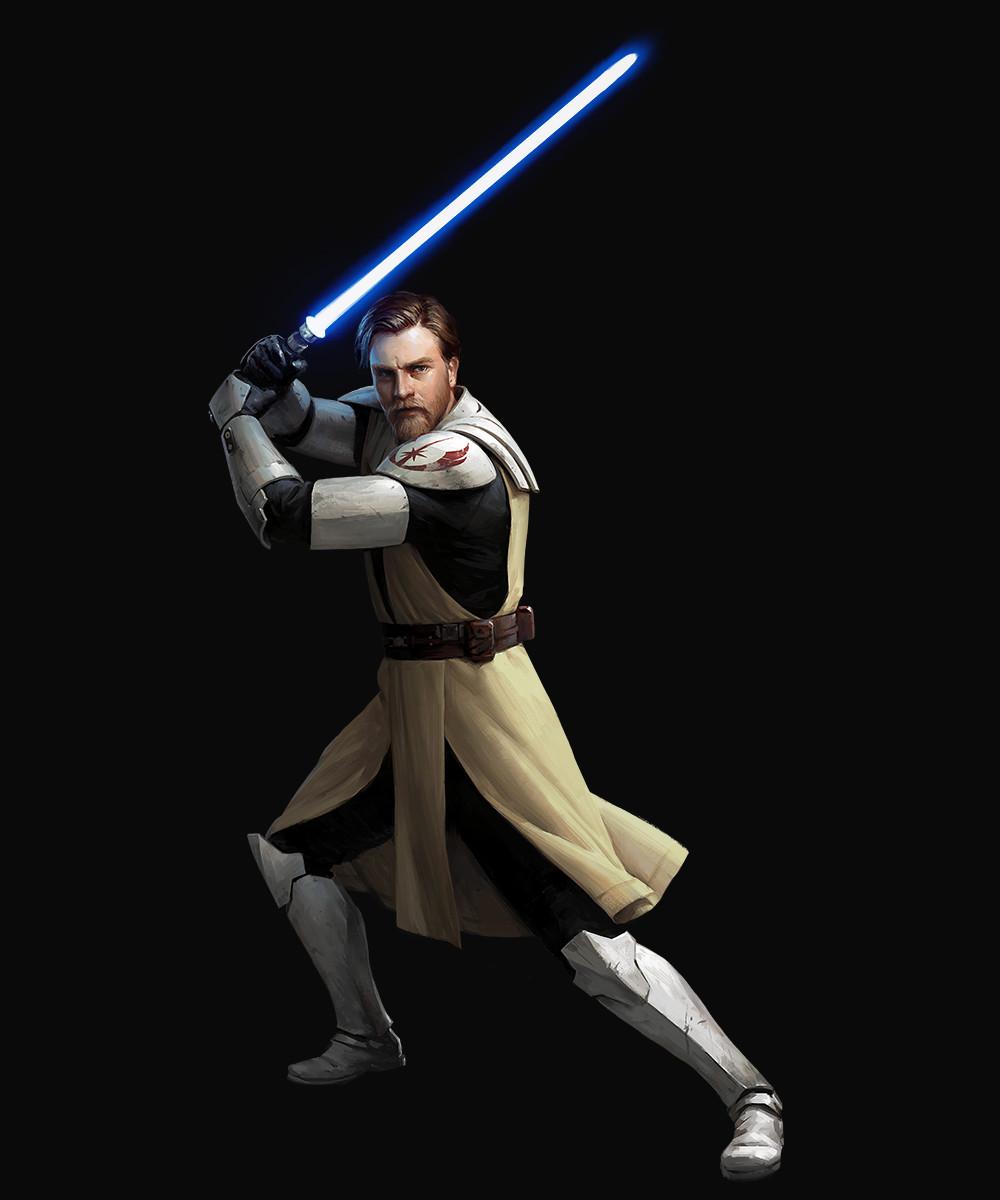 Obi Wan Kenobi Star Wars Darren Tan Star Wars Obi Wan Star Wars Images Star Wars Artwork