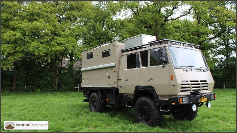Speurders.nl: Steyr 1291 4x4 Vrachtwagen Camper - Overland Truck