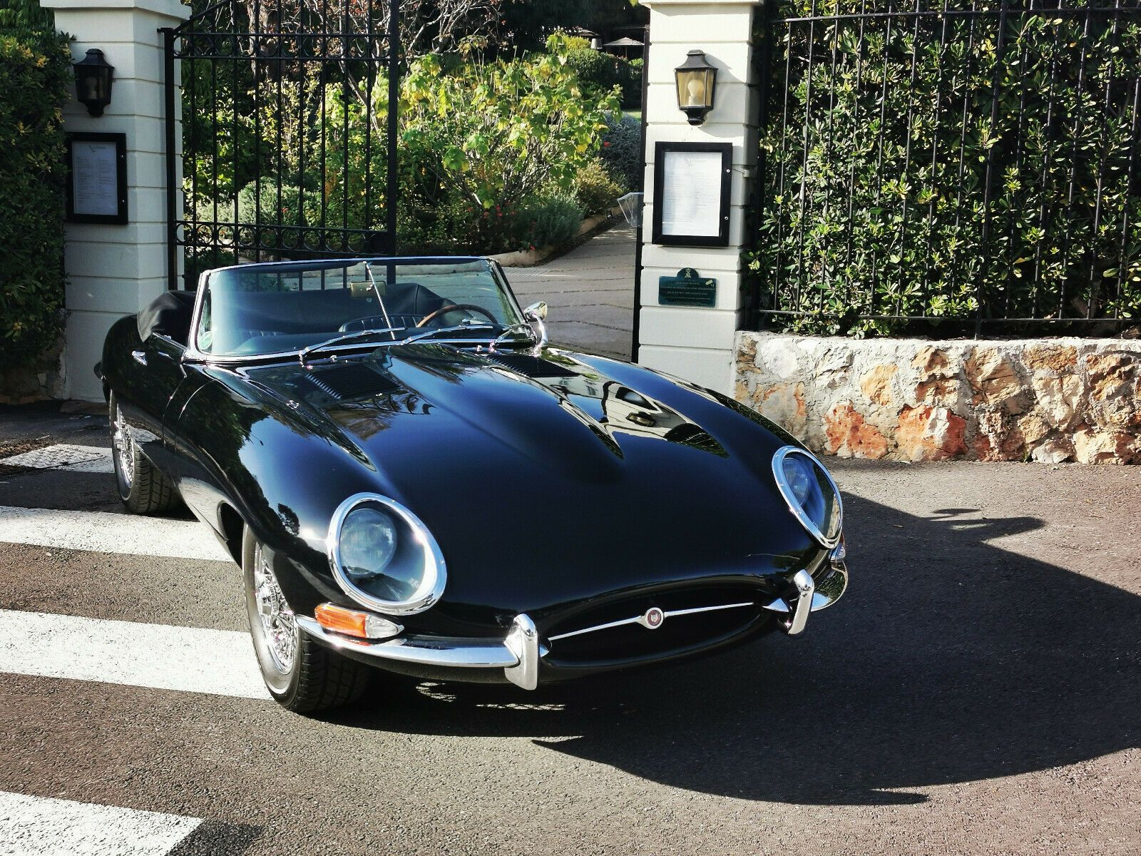 Used 1967 Jaguar E Type Jaguar E Type Roadster Xke Totally Restored 2020 Is In Stock And For Sale 24carshop Com Jaguar E Jaguar E Type Black Jaguar Car