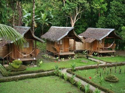 Nipa huts philippine interior design pinterest for Nipa hut interior designs