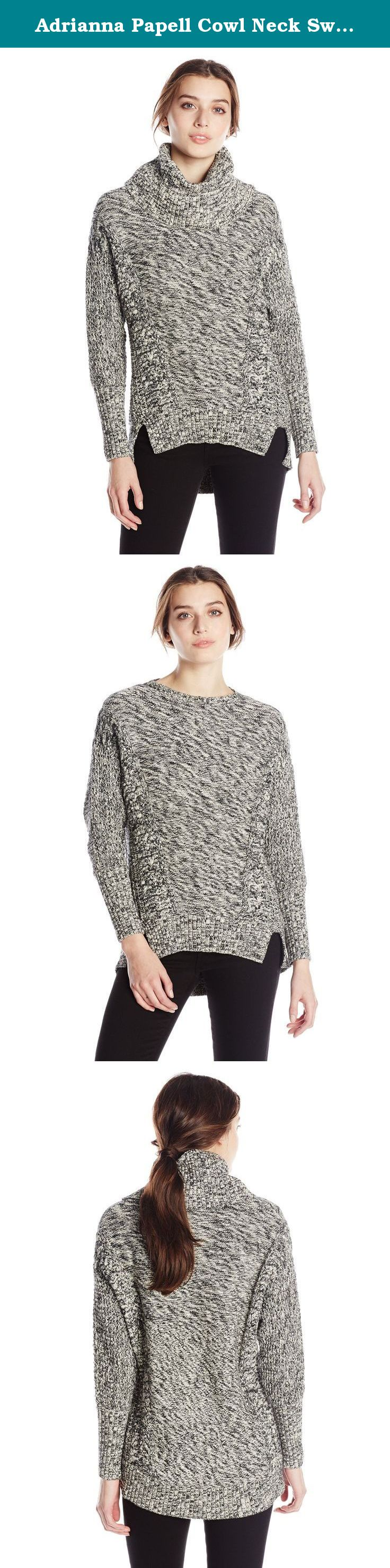 Adrianna Papell Cowl Neck Sweater. Cowl neck sweater, jaspee ...