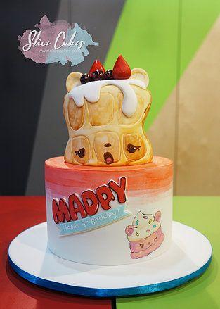 Num Noms Birthday Cake Willy Waffles Wwwslicecakescom Cake By - Birthday cakes croydon