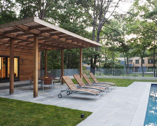 Cool vinyl pergola the longer lasting beauty amazing swingline pool house modern patio design with dark brown wooden vynil pergola several