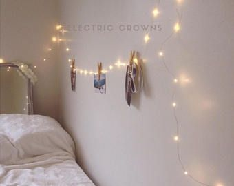 Bedroom Fairy Lights Decor String Dorm Hanging