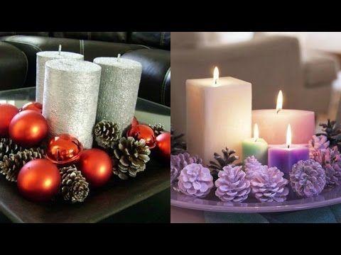 Arreglos de mesa para navidad con reciclaje centros de - Centros de mesas navidenos ...