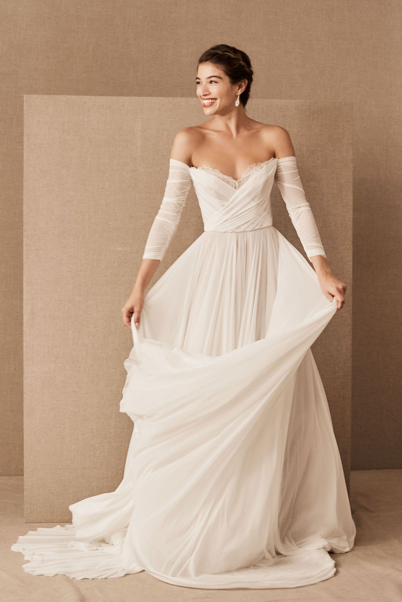 Exclusive Preview Alert: BHLDN's Spring 2020 Gowns are Full of Whimsy and Delicate Details | ...
