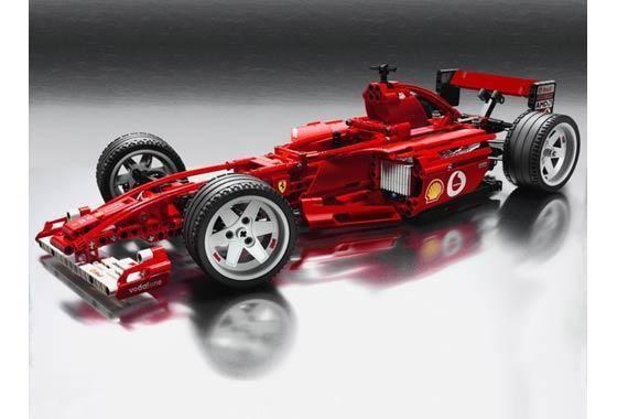 Lego Technic Ferrari F1 Racer Lego Racers Lego Technic Lego Wheels
