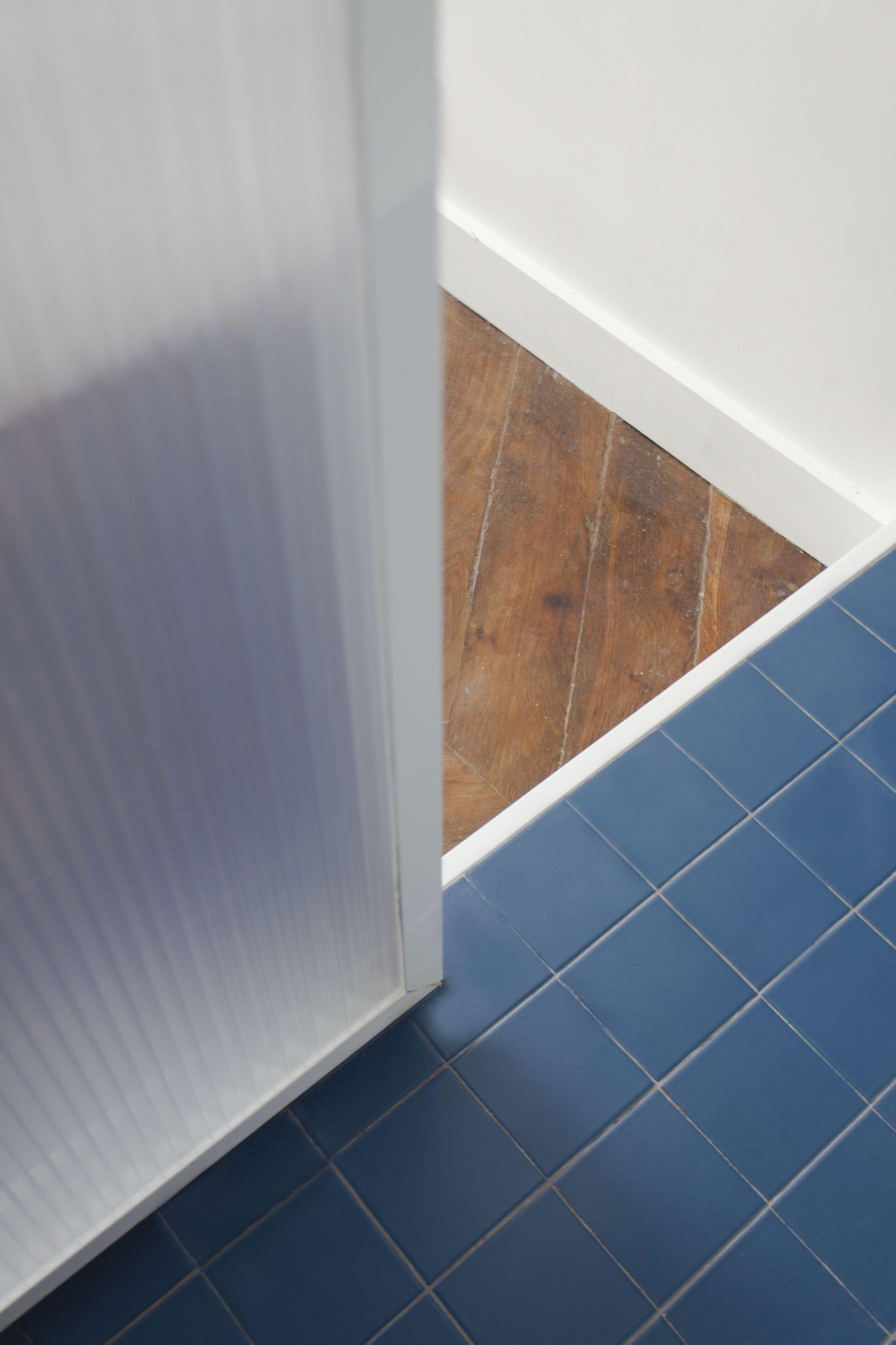 Tiles Pvc Plastic Tiling Lines Pure Brut Raw White