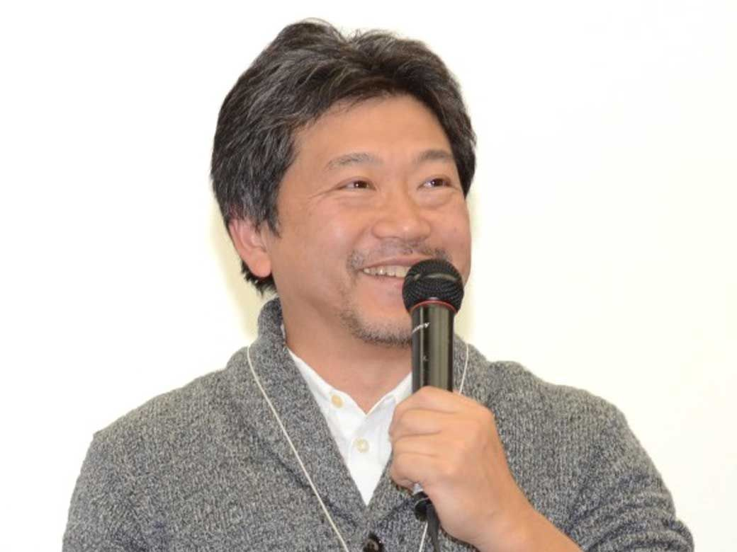 Hirokazu Koreeda supervised CMC in Nov 2014 at Waseda University, his home university.