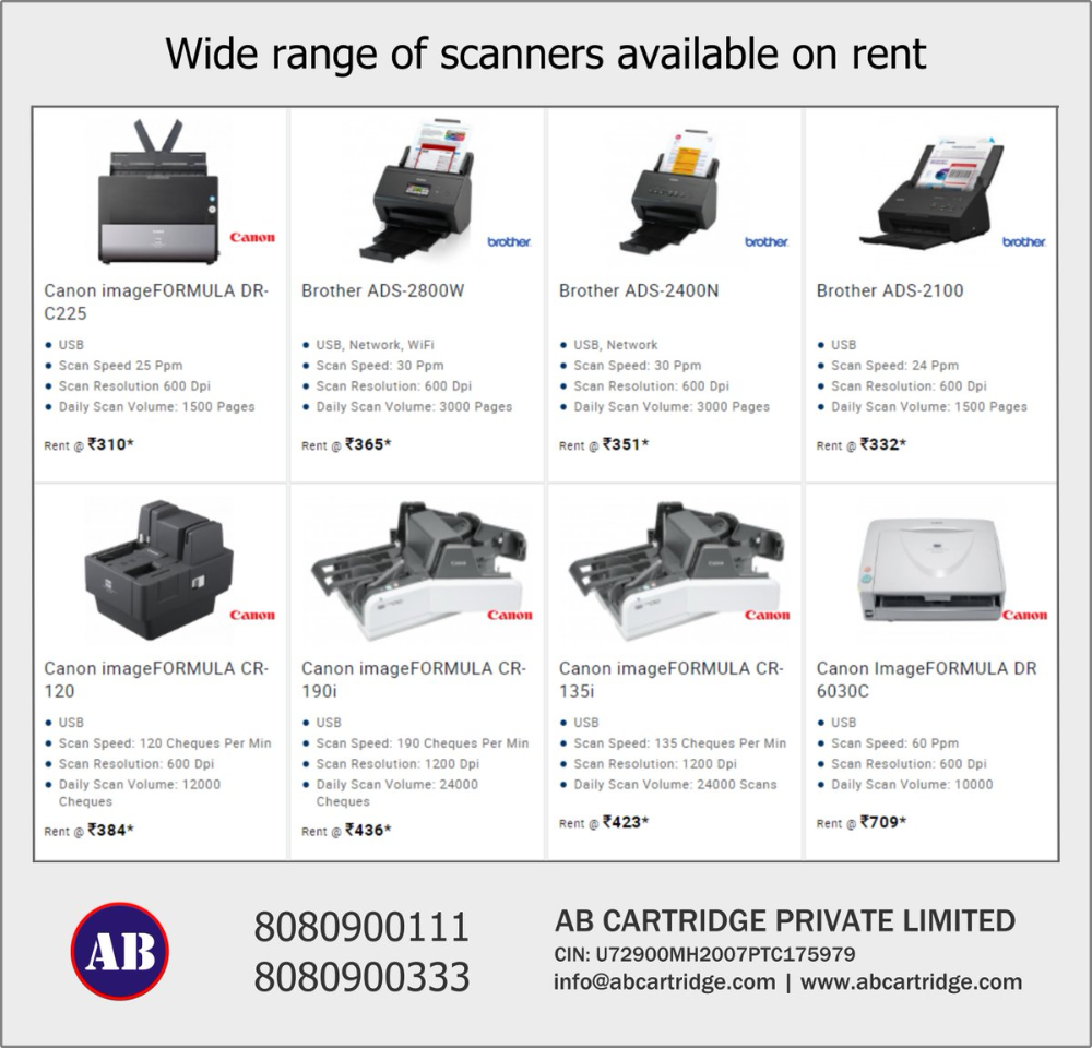 Printer Rental Hire Multifunction Printer Printer On Hire Mumbai