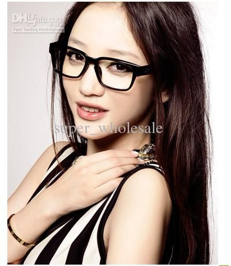 fashion retro sheet big black frames eye glasses frames multicolor unisex glasses frame 20pcs lot