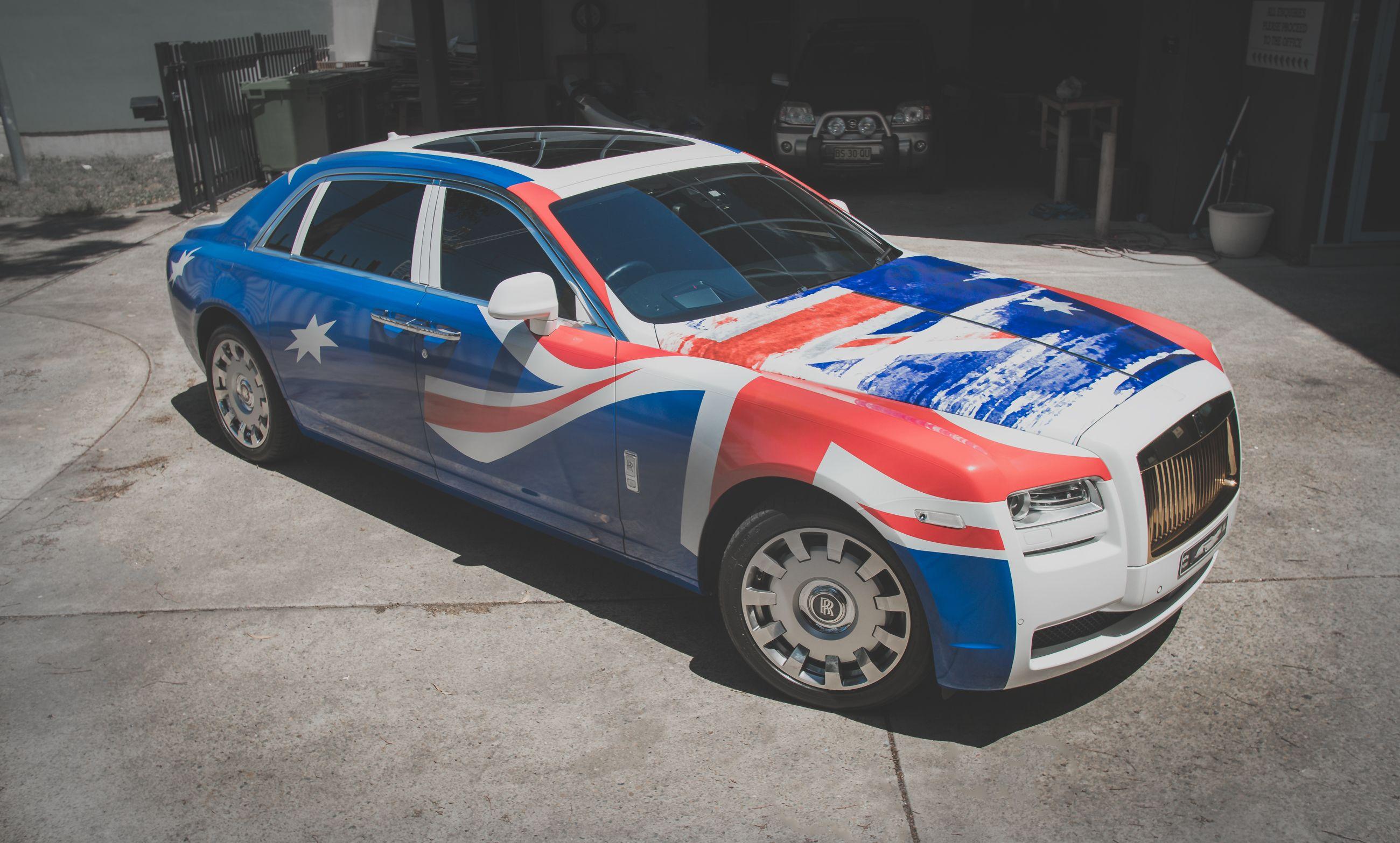 Nothing Says Australia Like Getting Your Car Vinyl Wrapped In The Australian Flag Car Wrap Vinyl Wrap Car Car
